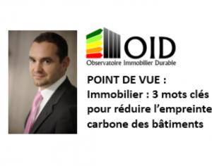 Immobilier tertiaire, 3 mots clés pour réduire l'empreinte carbone des bâtiments