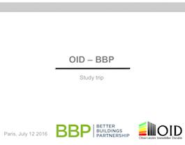 Juillet 2016 : Session d'échange avec le BBP