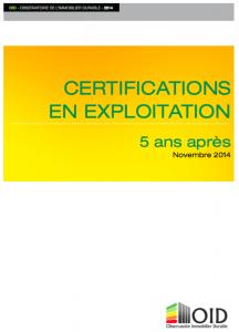 Publication : Certifications en exploitation, 5 ans après