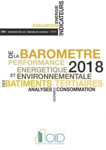 Publication : Baromètre 2018 de la performance énergétique et environnementale des bâtiments tertiaires