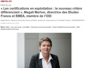 Les certifications en exploitation, le nouveau critère différenciant