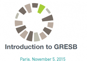 Novembre 2015 : Commission GRESB