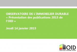 Janvier 2016 : Commission publications OID