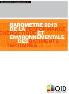 Publication : Baromètre 2013