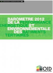 Publication : Baromètre 2012