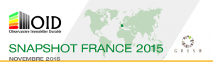 Publication : Snapshot France 2015 du GRESB