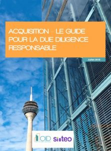 Publication : le guide pour la due diligence responsable