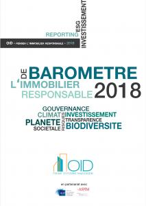 Publication : Le Baromètre 2018 de l'Immobilier Responsable